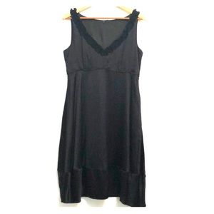 Tahari Black Silk Dress
